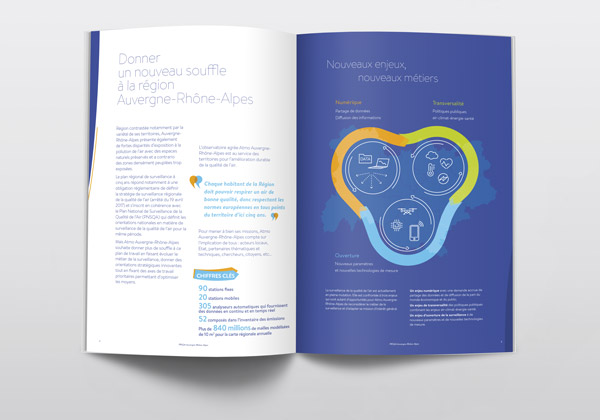 Graphiste Montpellier - Brochure institutionnelle
